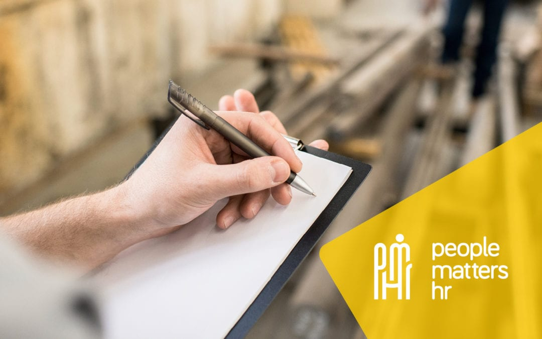 PMHR first steps health and safety in workplace