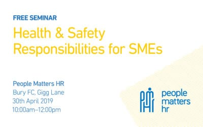 FREE Seminar: Health & Safety Responsibilities for SMEs