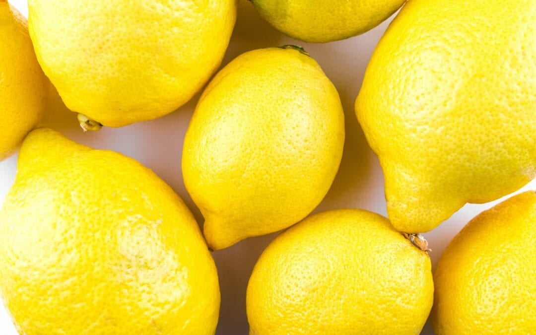When life gives you lemons ….